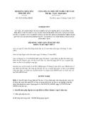 Nghị quyết số 56/2012/NQ-HĐND