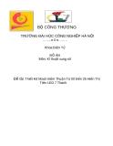 ĐỀ TÀI: Thiết Kế Mạch Đếm Thuận Từ 00 Đến 25 Hiển Thị Trên LED 7 Thanh