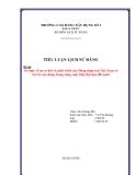 Tiểu luận lịch sử Đảng: Sơ lược về sự ra đời và phát triển của Đảng Cộng sản Việt Nam và vai trò của Đảng trong công cuộc hiện đại hóa đất nước