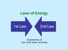 Laws of Energy
