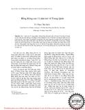 """Báo cáo """" Hồng Kông sau 11 năm trở về Trung Quốc """""""