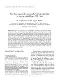 """Báo cáo """"  Vận dụng nguyên lý Atabay cho bài toán sáp nhập và mua lại ngân hàng ở Việt Nam """""""