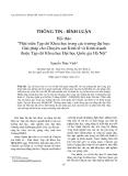 """Báo cáo """"Phát triển Tạp chí Khoa học trong các trường đại học: Giải pháp cho Chuyên san Kinh tế và Kinh doanh thuộc Tạp chí Khoa học Đại học Quốc gia Hà Nội"""""""