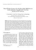 """Báo cáo """" Thực tiễn hữu ích trong việc triển khai chuẩn CMMI cho các doanh nghiệp gia công phần mềm Việt Nam: Bài học từ FPT Software """""""
