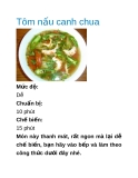 Tôm nấu canh chua