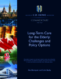 Long-Term Care  for the Elderly: Challenges and  Policy Options