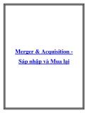 Merger và Acquisition - Sáp nhập và Mua lại