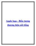 Apple logo - Biểu tượng thương hiệu nổi tiếng