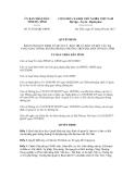 Thông tư số  51/2012/QĐ-UBND