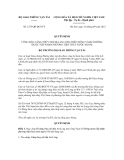 Quyết định số 2175/QĐ-BGTVT