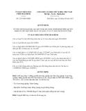 Quyết định số  2279/QĐ-UBND