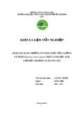 Luận văn: ĐÁNH GIÁ SINH TRƯỞNG VÀ NĂNG SUẤT CỦA 6 GIỐNG CÀ PHÁO (Solanum macrocarpon) TRÊN VÙNG ĐẤT XÁM THỦ ĐỨC VỤ ĐÔNG XUÂN 2011-2012