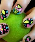 Vẽ nail hình cú mèo cho tay xinh thêm yêu
