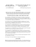 Quyết định số 1384/QĐ-BNN-KHCN