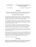 Quyết định số 5317/QĐ-BCT