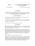 Quyết định số 3385/QĐ-BYT