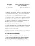 Thông tư số 156/2012/TT-BTC