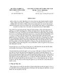 Thông báo số 4384/TB-BNN-VP