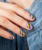 Kiểu vẽ nail cho mùa thu