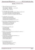 Bài tập Kiến trúc máy tính - Đh Qui Nhơn