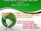 Đề tài: XỬ LÝ NƯỚC THẢI SINH HOẠT CỦA NHÀ HÀNG KHÁCH SẠN VỚI CÔNG SUẤT 350 M3/NGÀY ĐÊM