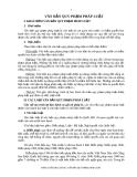 Văn bản quy phạp pháp luật Việt Nam