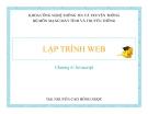 LẬP TRÌNH WEB-Chương 6: Javascript
