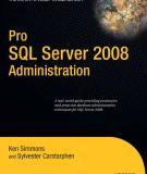 Pro SQL Server 2008 Administration