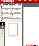 Tạo và chỉnh sửa tài liệu PDF nhanh chóng với PDFescape