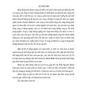 BÀI TẬP NHÓM:  QUẢN TRỊ CHIẾN LƯỢC – PHÂN TÍCH SỨ MỆNH VIỄN CẢNH CÔNG TY ARCHER DANIELS MIDLAND (ADM)
