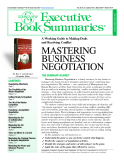 Concentrated Knowledge™ for the Busy Executive mastering business negotiation