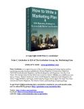 marketing plan © Copyright 2008 Peter