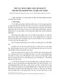 TIẾP TỤC HOÀN THIỆN THẾ CHẾ KINH TẾ THỊ TRƯỜNG ĐỊNH HƯỚNG XÃ HỘI CHỦ