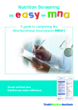 Nutrition Screening as easy as mna: A guide to completing the Mini Nutritional Assessment (MNA®)