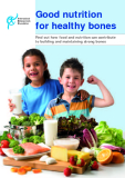 Good nutrition for healthy bones