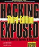 HACKING EXPOSED: NETWORK SECURITY SECRETS AND SOLUTIONS, THIRD EDITION