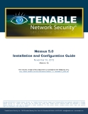 Nessus 5.0  Installation and Configuration Guide