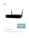 Cisco Small Business - RV220W Wireless-N Network Security Firewall