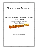 CRYPTOGRAPHY AND NETWORK  SECURITY PRINCIPLES AND PRACTICE  FOURTH EDITION