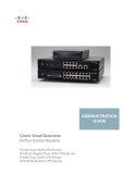 Cisco Small Business - RV0xx Series Routers