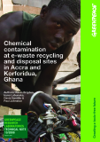 Chemical contamination at e-waste recycling and disposal sites in Accra and Korforidua, Ghana
