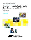 Master's Degree in Public Health Core Competency Model