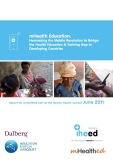 Health Education:  Harnessing the Mobile Revolution to Bridge  the Health Education & Training Gap in  Developing Countries