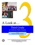 A Look at…Third Grade  in California Public Schools