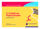 R–10 Health and Physical Education