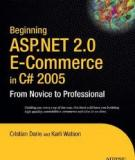 Beginning ASP.NET 2.0 E-Commerce in C# 2005