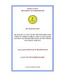 Luận văn tốt nghiệp: Quảng bá và xây dựng thương hiệu cho công ty TNHH Cơ điện lạnh và xây dựng An Phát tại thành phố Long Xuyên trong trong giai đoạn 2008 - 2012