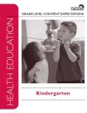 GRADE LEVEL CONTENT EXPECTATIONS: Kindergarten