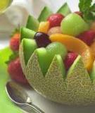 Lựa chọn trái cây tốt cho ngày hè