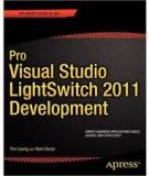 Pro Visual Studio LightSwitch 2011 Development